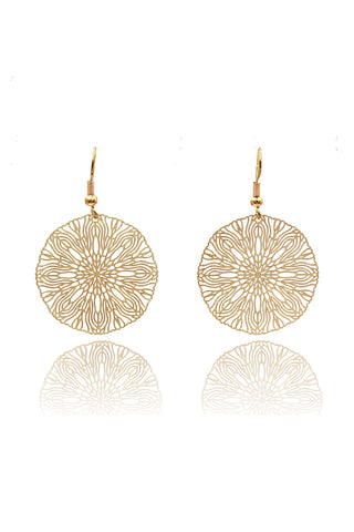 long round cutout earrings