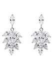 elegant temperament crystal earrings