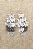long small butterfly earrings