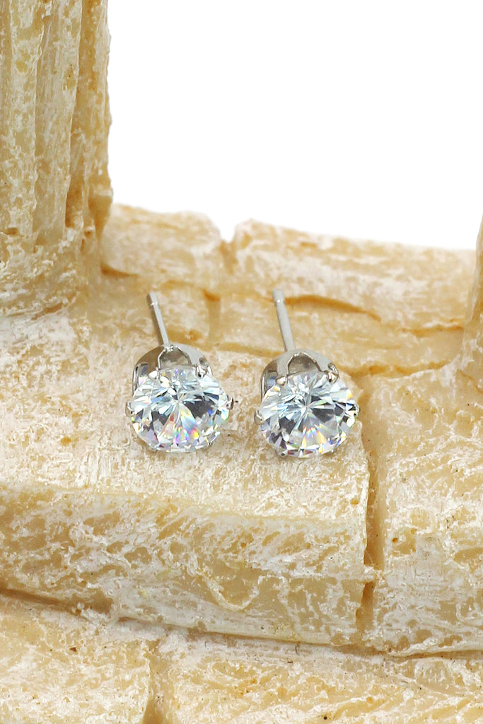 wild mini crystal earrings