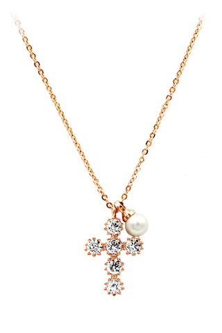 fashion natural stone golden necklace