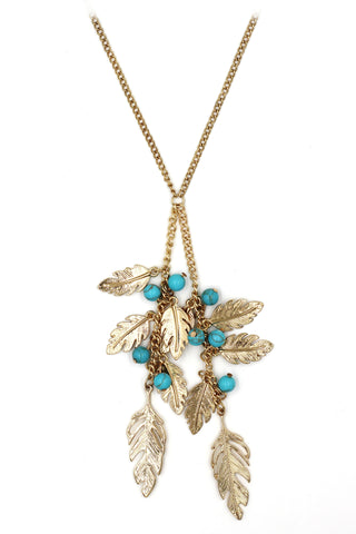 fashion crystal fairy golden necklace