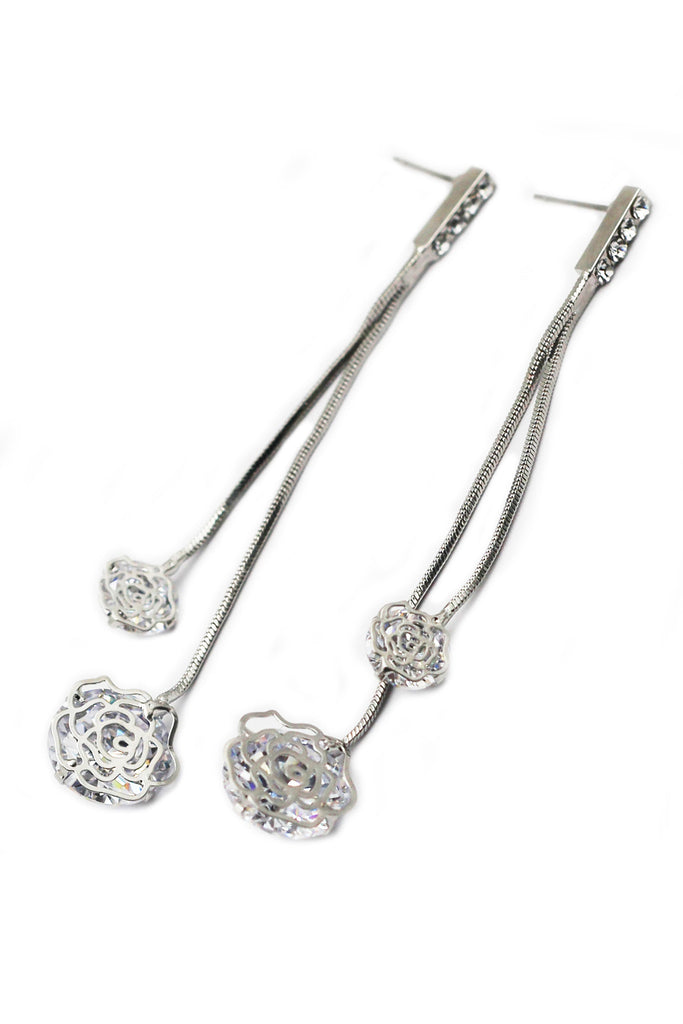 Lovely lady Rose earrings