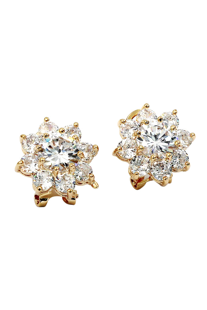 elegant women jewelry pearl ear stud earrings rhinestone gold p s fashion y lady