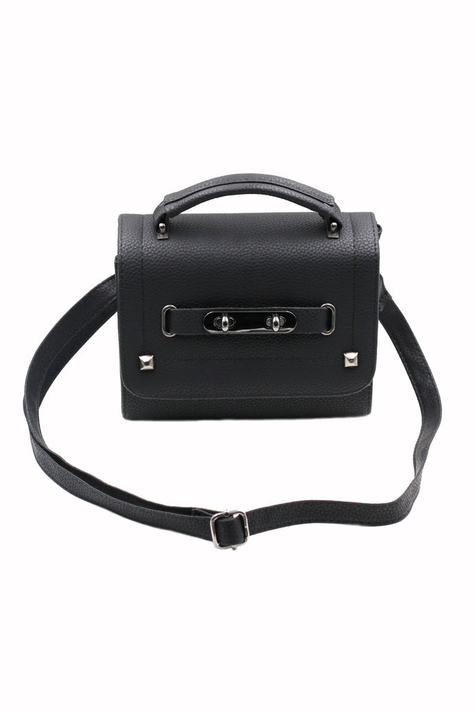 pebble lady small leather handbag