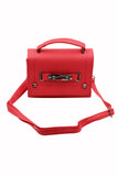 pebble lady removable small leather handbag