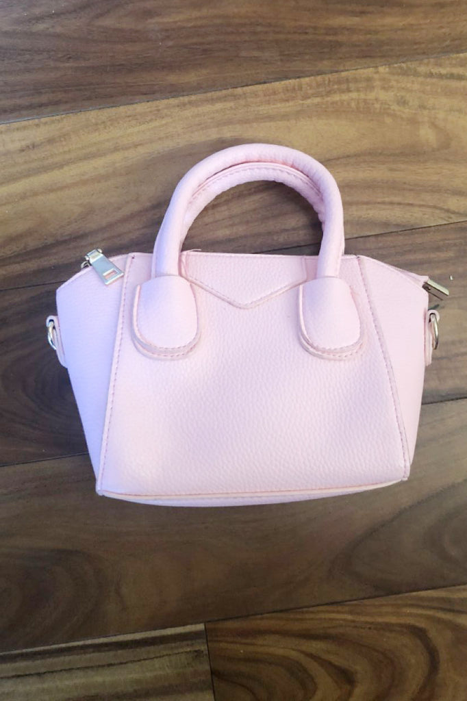 Pebble leather dumplings purse