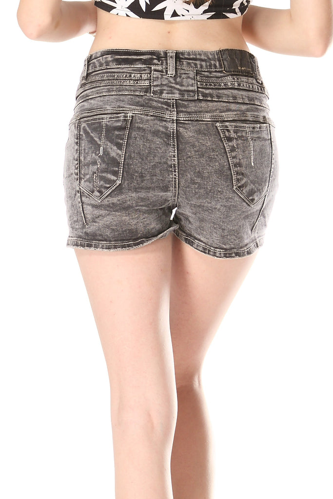 High Waist Grey shorts