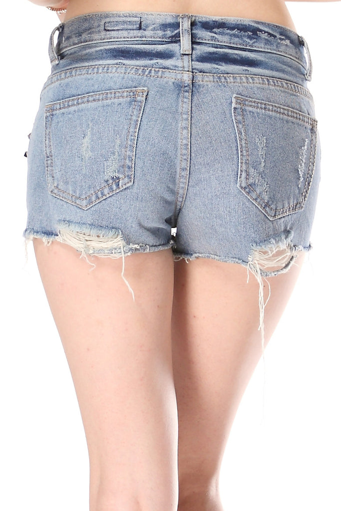 Sprinkle Stars denim shorts