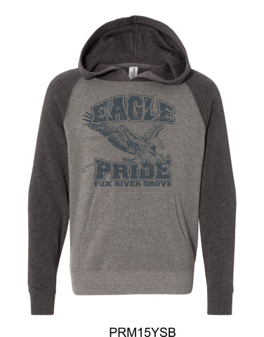 2019/2020 FRG Eagles Spiritwear - Youth Hoodie- Design1