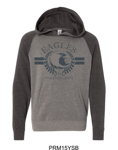 2019/2020 FRG Eagles Spiritwear - Youth Hoodie- Design2
