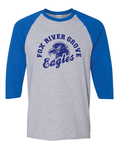 Fox River Grove Eagles 3/4 Sleeve 2018