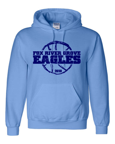 Fox River Grove Eagles 6th/7th Grade Girls Basketball- Pullover Hoodie