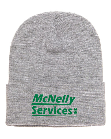 McNelly's Services Cuffed Beanie Option 2