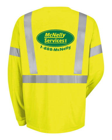McNelly's Services Safety Long Sleeve T-Shirt