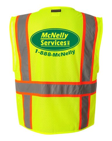 McNelly's Services Safety Vest