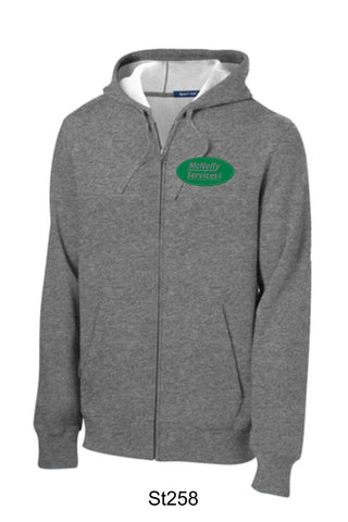 McNelly's Services Zip-Up Hoodie