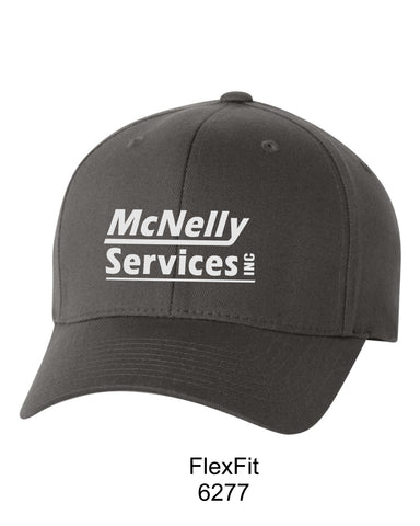 McNelly's Services Fitted Hat Option 2