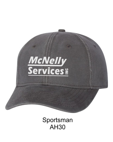 McNelly's Services Buckled Hat Option 2