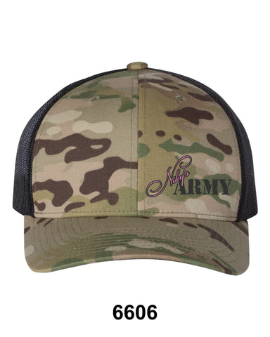 Niky's Army Green Camo Hat
