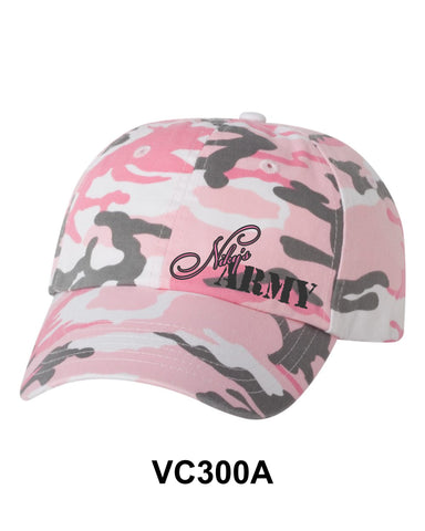 Niky's Army Pink Camo Hat