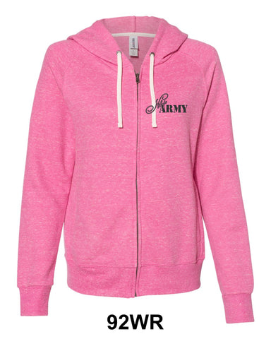 Niky's Army Ladies Zip-Up Hoodie