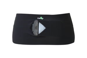 Solid Black Runner's Belt - speedzter  - 4