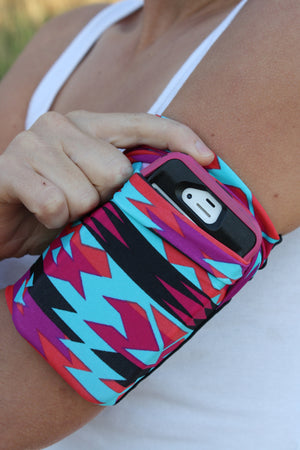 AZTEC iphone cell phone armband