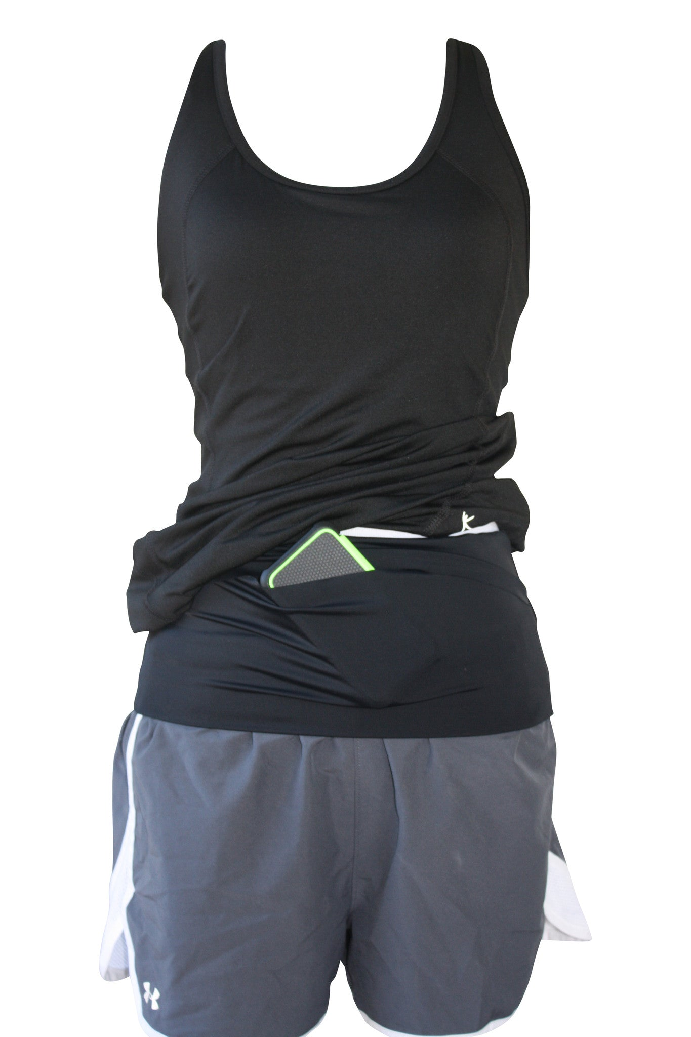 Solid Black Runner's Belt - speedzter  - 2