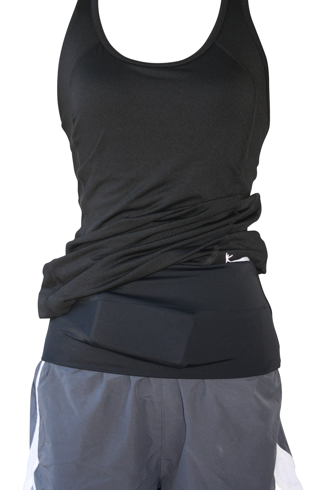 Solid Black Runner's Belt - speedzter  - 3