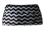 Black & White Chevron Running Belt - speedzter  - 1