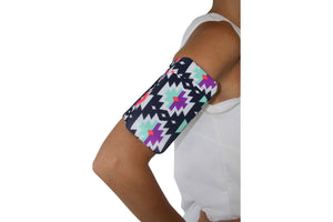 Geometric Cell Phone Armband