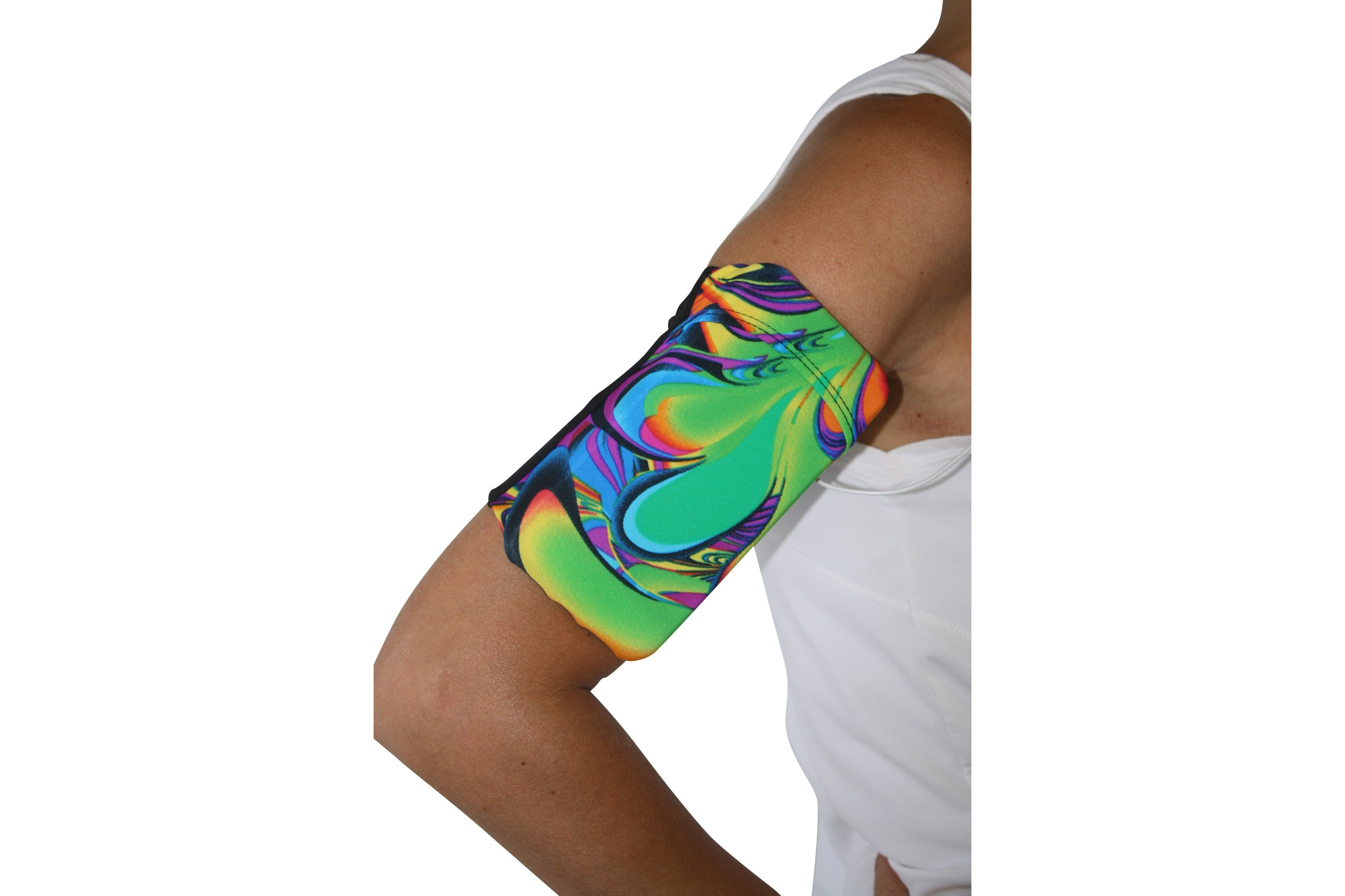 Far Out Tie Dye Cell Phone Armband