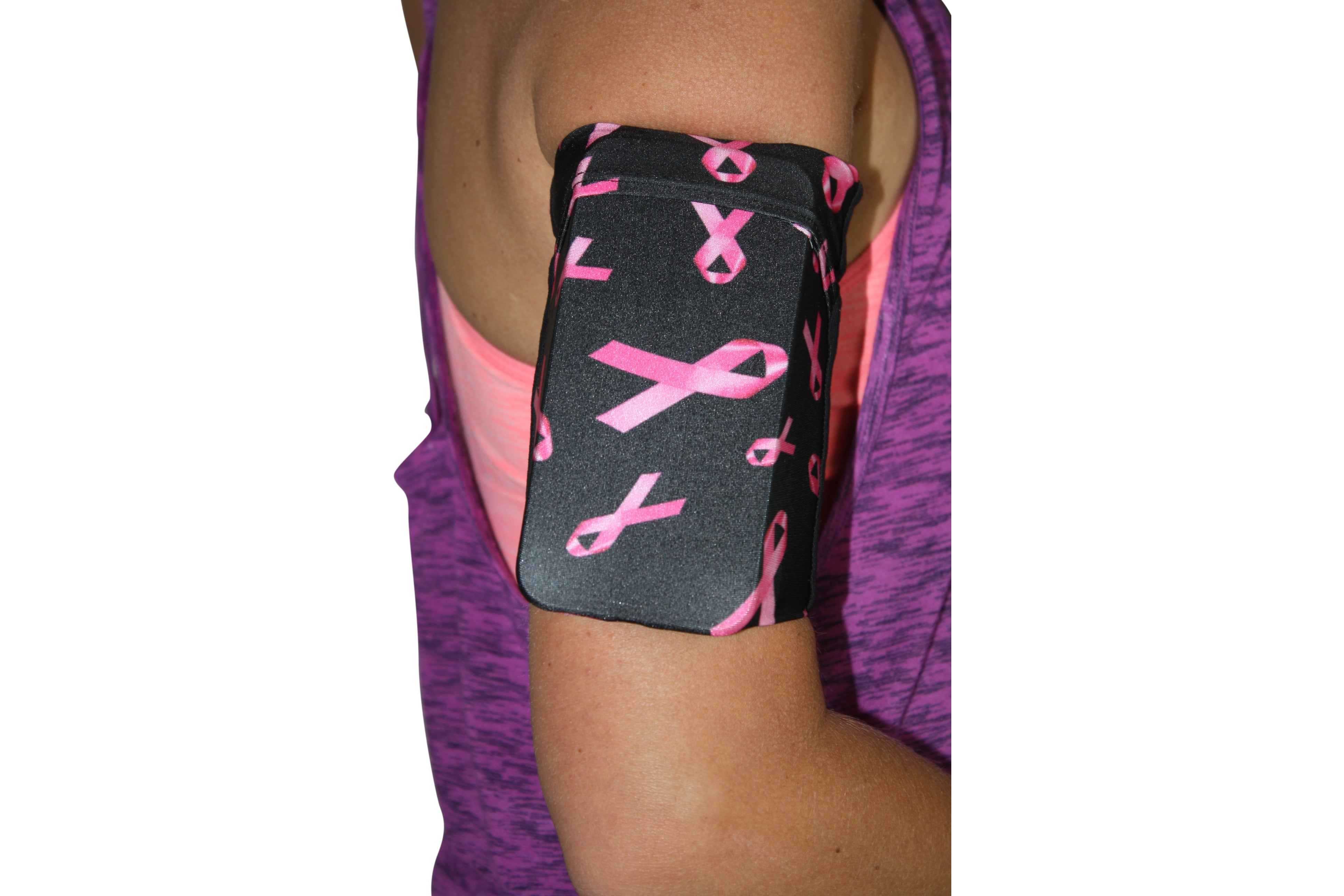 Pink Ribbon Cell Phone Armband
