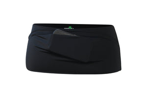 Solid Black Runner's Belt - speedzter  - 1