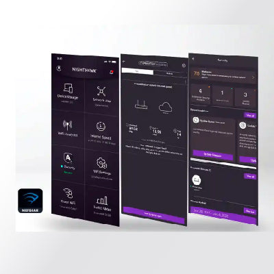 Easy Setup and Use with the Nighthawk App