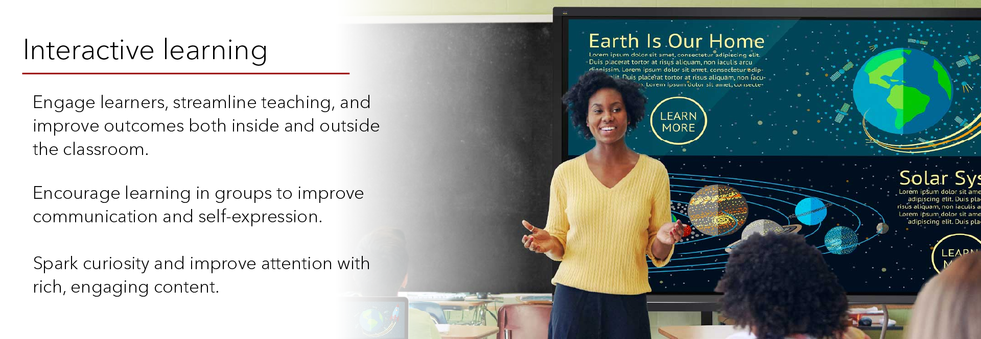 ViewBoard - Interactive learning by engaging students with rich content, and collaboration in the classroom | Kaira Global