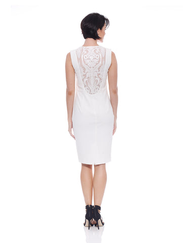 Luxe Embroidery Insert Dress