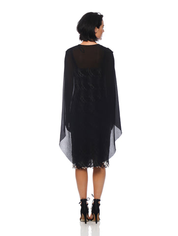 Mercury Cape Dress