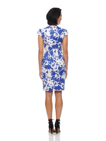 Moon Flower Cutout Dress
