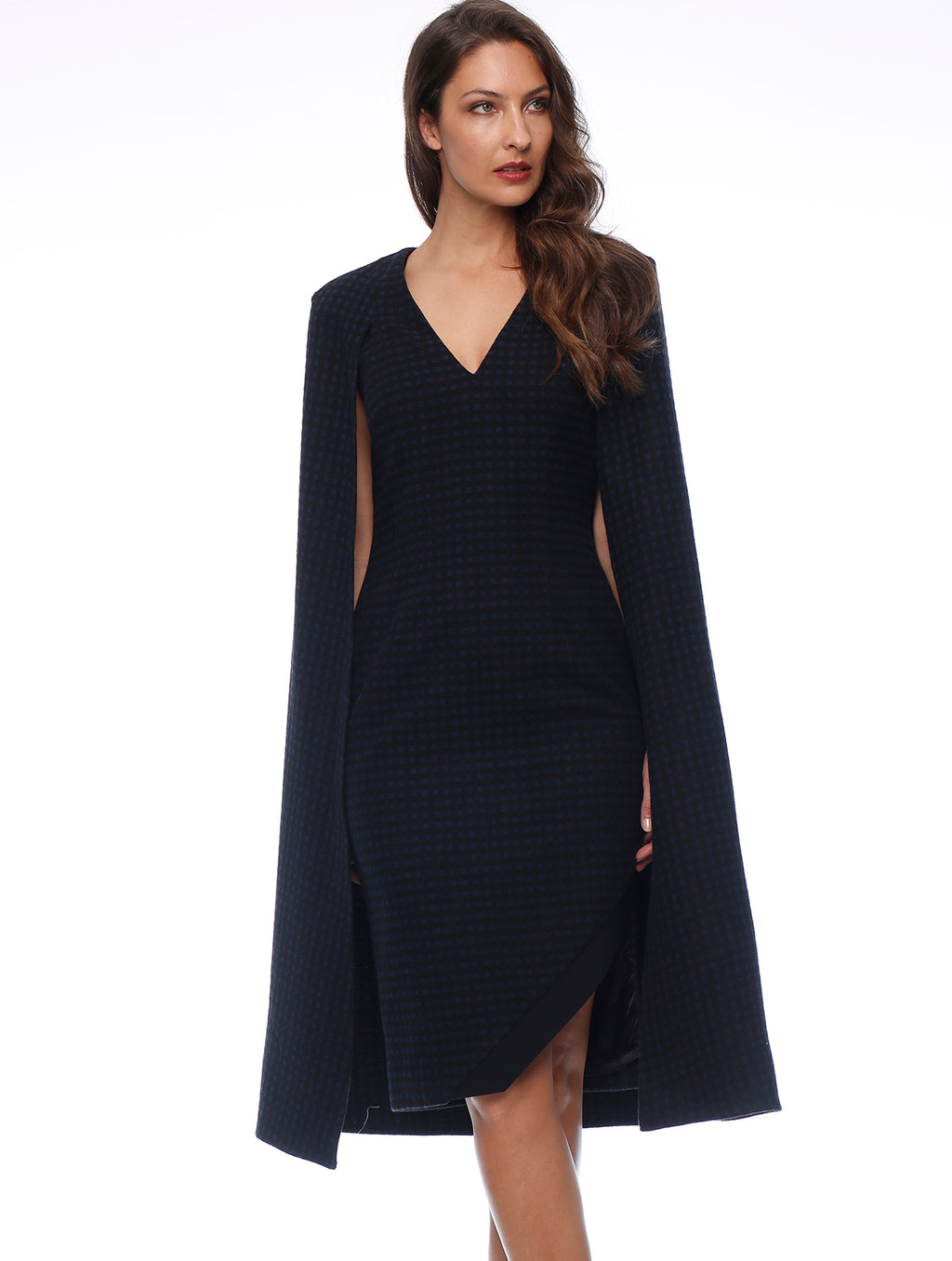 Eleanor Cape Dress