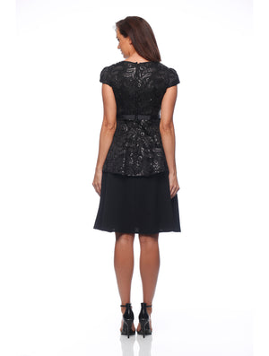Santarini Peplum Dress
