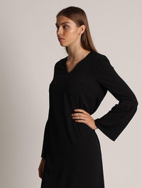 Royal Queen Dress (Black)