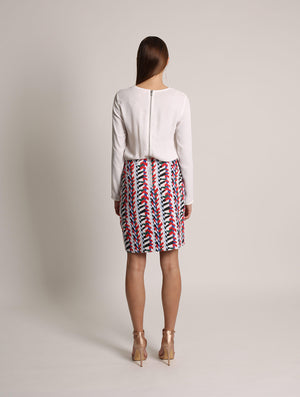 La Belle Tribe Contrast Dress