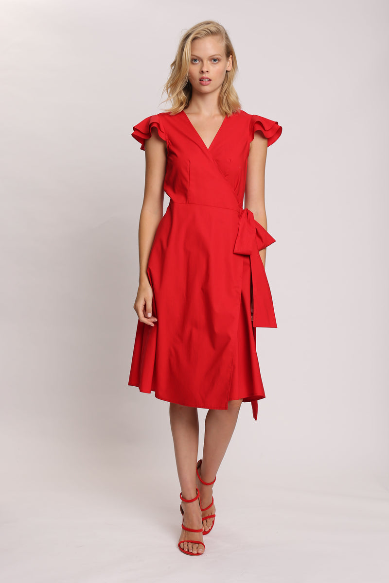 Secret Garden Ruffle Dress