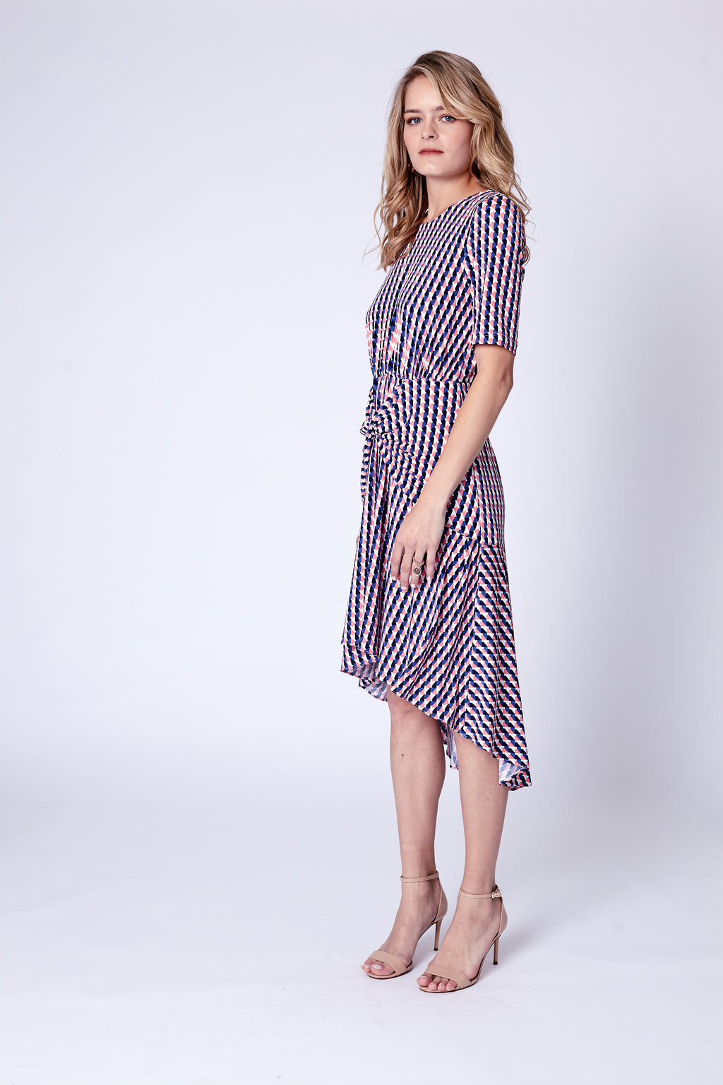 Crossword Gathered Dress