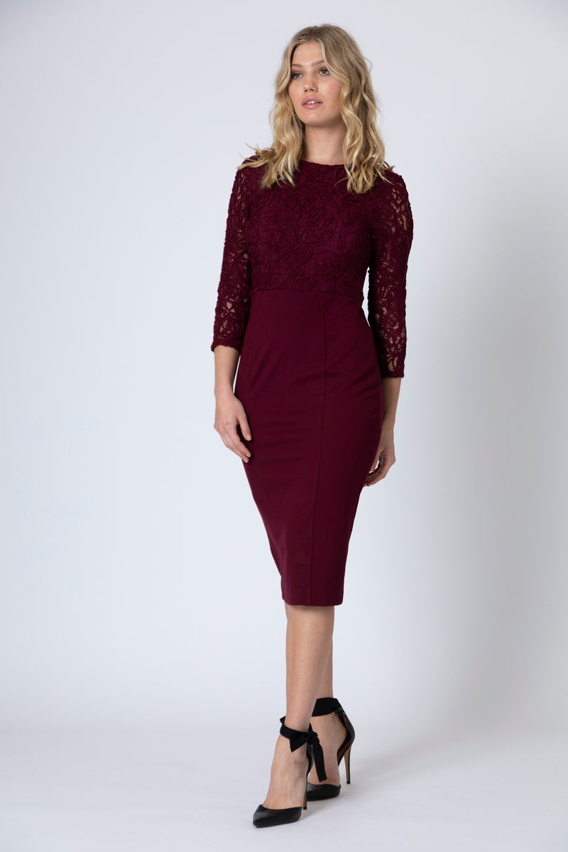 Victoria Fitted Dress