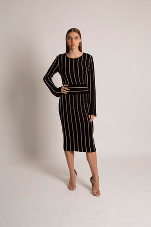 Chique Long Sleeve Dress