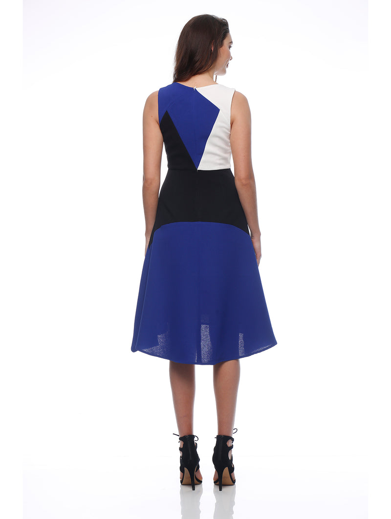 Color Block Aline Dress