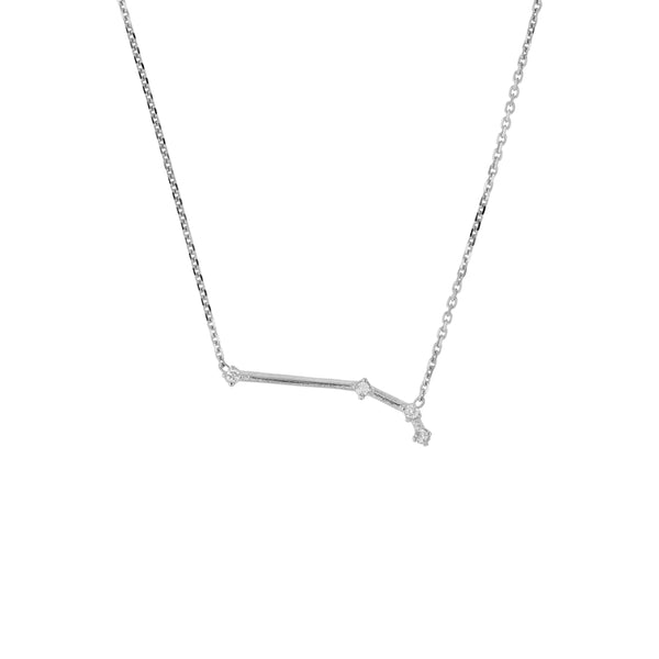 Celestial Aries Necklace White Gold | Sarah & Sebastian